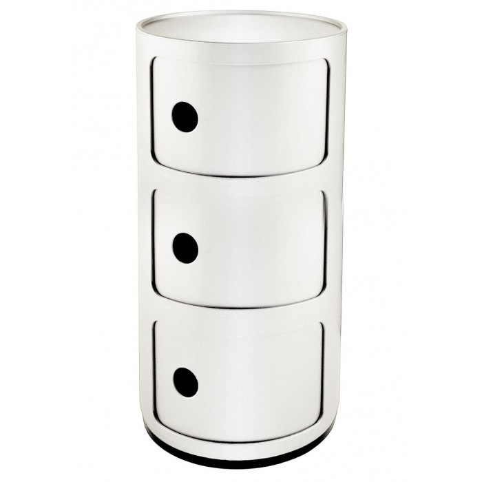 Meuble de rangement Componibili 3 tiroirs - KARTELL - oralto-shop.com