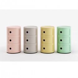 Meuble de rangement Componibili 3 tiroirs Bio - KARTELL - oralto-shop.com