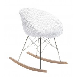 Rocking-chair Smatrik - KARTELL - oralto-shop.com