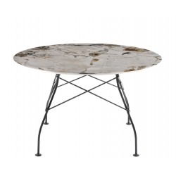 Table Glossy ronde  ? 130 cm - KARTELL - oralto-shop.com