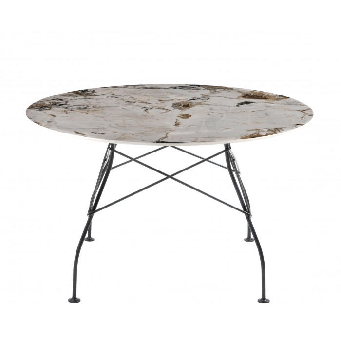 Table Glossy ronde  ? 130 cm - KARTELL - oralto-shop.com