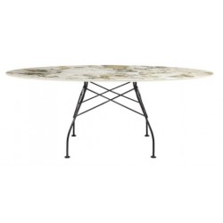 Table Glossy ovale - KARTELL - oralto-shop.com