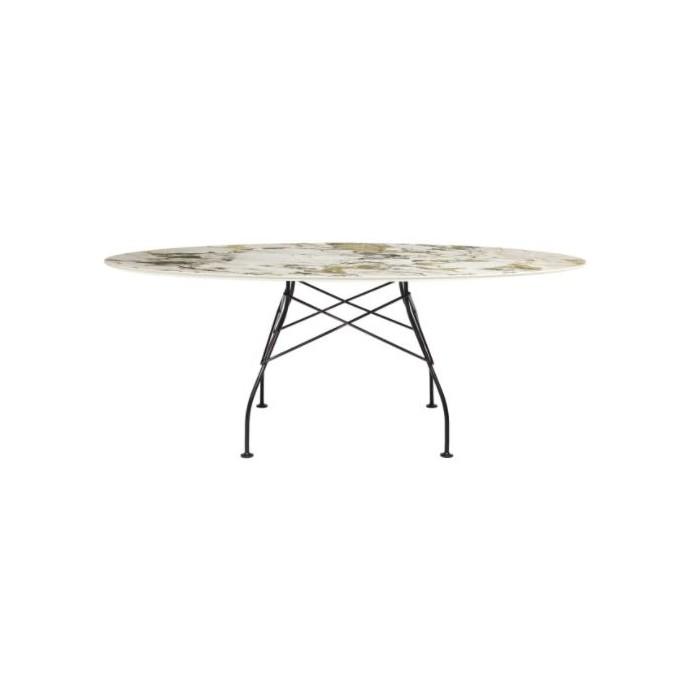 Table Glossy ovale - KARTELL - oralto-shop.com