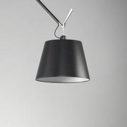 Lampadaire Tolomeo Mega Tissu Noir - ARTEMIDE - oralto-shop.com