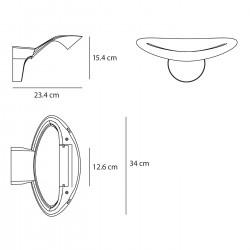 Applique Mesmeri LED - ARTEMIDE - oralto-shop.com