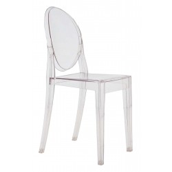 Chaise Victoria Ghost - KARTELL - oralto-shop.com