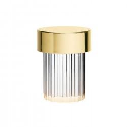 Lampe sans fil Last Order Fluted - ? 10 x H 14 cm - Flos - oralto-shop.com