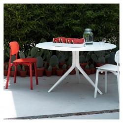 Chaise empilable Colander / Polypropylène perforé - Kristalia - oralto-shop.com