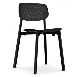 Chaise empilable Colander / Polypropyl?ne perfor? - Kristalia - oralto-shop.com