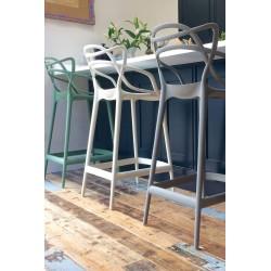 Chaise haute Masters hauteur d'assise 75 cm - KARTELL - oralto-shop.com
