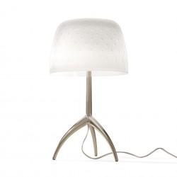 Lampe de table Lumière piccola 30th motifs bulles pied champagne