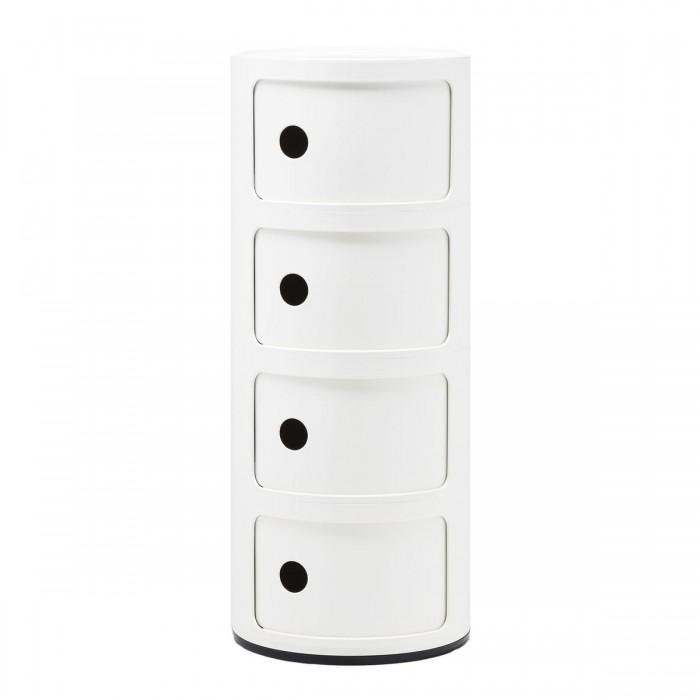 Meuble de rangement Componibili 4 tiroirs - KARTELL - oralto-shop.com